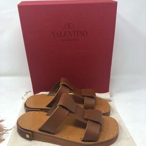 New Valentino Garavani runway feather sandals